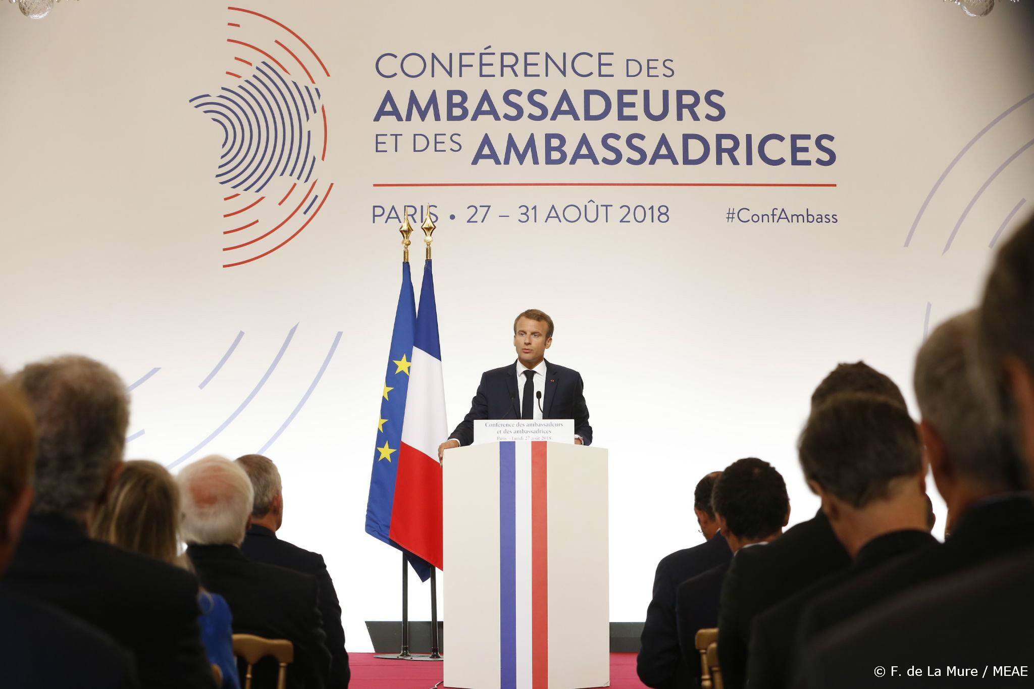 Conférence des ambassadeurs - 2018